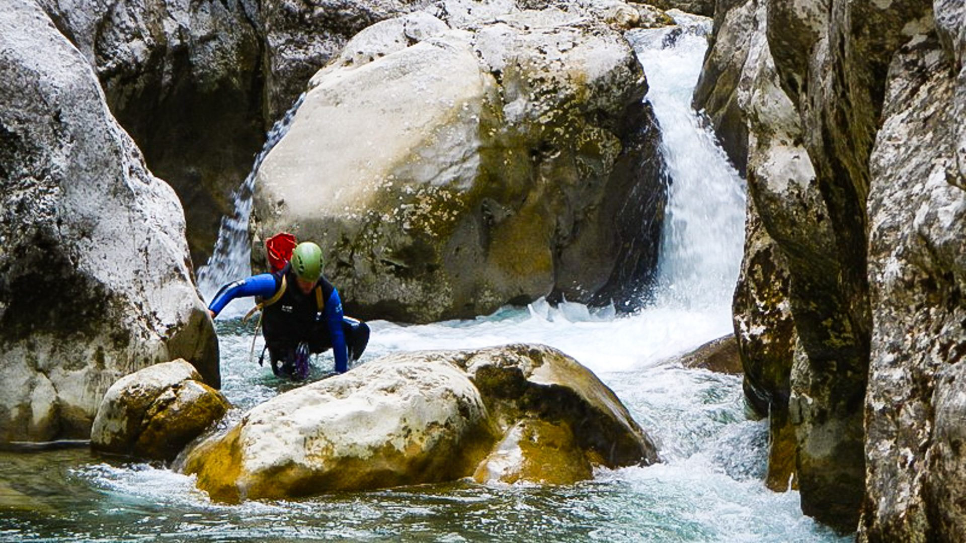 Canyoning aquatique
